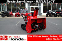 "Honda Snowblowers 24"" Starting at $2,399*"