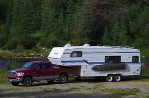 5th wheel Frontier 24,5 ft with 2007 Dodge Ram 2500