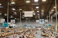 Help required TOMS Warehouse Sale in Hamilton April 18-22