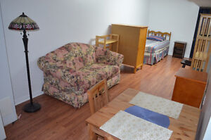 Furnished Pickering basement apartment
