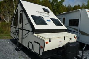 2018 Forest River Flagstaff Hard Side Pop-Up Campers T12RBST