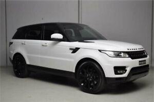 2015 Land Rover Range Rover LW MY15 Sport 3.0 SDV6 SE White 8 Speed Automatic Wagon
