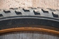"""For quick sale are 2 used 24"""" mountain bike tires with tubes"""