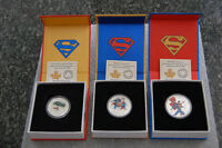 Superman Silver Coins, Set of 3