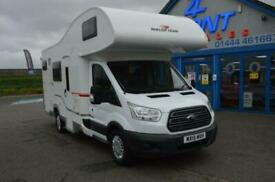 Roller Team Zefiro 675 FORD TRANSIT 6 BERTH 6 TRAVELLING SEATS MOTORHOME