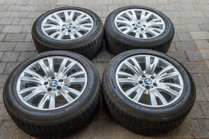 BMW X5 M-SPORT 19 inch wheels and tires