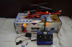 E-Flite Blade CX2 RC Helicopter (like NEW with many extra parts)