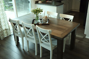 "2"" Thick, Rustic Pine Dining Tables Starting At Only $650 Kitchener / Waterloo Kitchener Area image 1"
