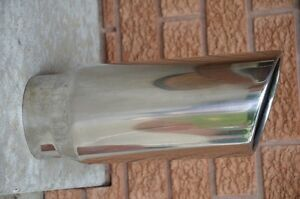 "6"" Polished Chrome Exhaust tip Kingston Kingston Area image 2"