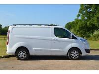 FORD TRANSIT CUSTOM 2.2 TDCi 270 LIMITED L1 H1 Short Wheel Base 124 BHP -NO VAT