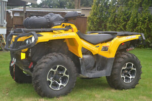 2013 ATV Outlander XT 800EF Must See