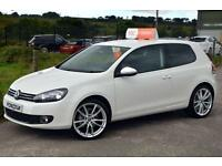 2012 12 VOLKSWAGEN GOLF 2.0 GT TDI BLUEMOTION TECHNOLOGY 3D 138 BHP *FULL LEATHE
