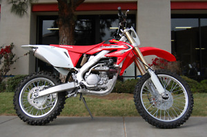 Looking for a street legal/blue plated dirt bike