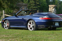 2004 Porsche 911 C4S Convertible Rare 2 Of Factory Porsche