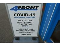 Elddis Autoquest 120 PEUGEOT BOXER 2 BERTH 2 TRAVELLING SEATS MOTORHOME