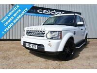 2012 62 LAND ROVER DISCOVERY 4 3.0 4 SDV6 HSE 5D AUTO 255 BHP DIESEL