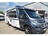 2015 Burstner Nexxo T720. 4 Berth Motorhome. Twin Single Beds. Automatic.