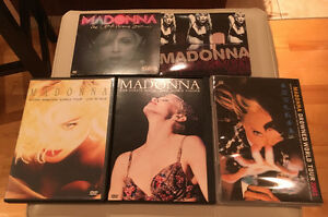 DVD MADONNA 5 SHOWS COLLECTION