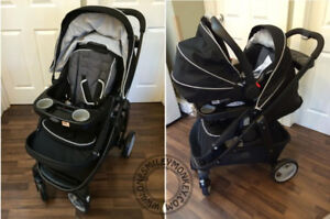 Graco Model Click Connect stroller in Onyx for sale