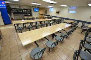 Cafeteria tables & chairs, dining room & terrasse tables  chairs