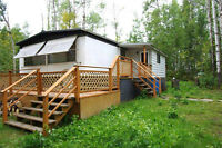 3 bed Mobile on 2 Titled Lots By Lac La Nonne