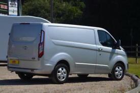 Ford Transit Custom 2.0 TDCi Euro 6 290 Limited L1 H1 170 BHP Panel Van