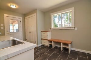 Beautiful Ocean view from this semi waterfront home. Campbell River Comox Valley Area image 5