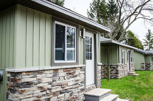 1 & 2 bedroom cottages on West Lake in Prince Edward County