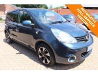 2012 12 NISSAN NOTE 1.6 N-TEC PLUS 5D AUTO 110 BHP