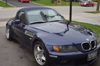 1997 BMW Z3 Roadster Convertible with Chrome Trim