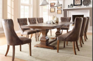 Restoration Hardware Style French Rustic Farmhouse Dining Table
