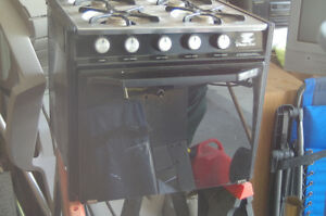 camp stove with oven