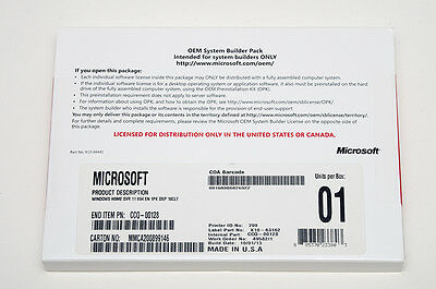 NEW Microsoft Windows Home Server 2011 64bit System Builder DVD WHS /10 USERS