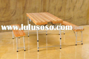 Distinctly Home folding Picnic Bench & Table set.