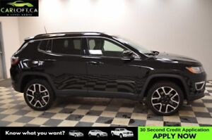 2017 Jeep Compass Limited 4WD- NAV * BACKUP CAM * HEATED SEATS