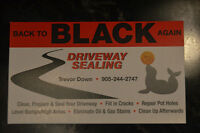 Back to Black Again Driveway Sealing IS HAVING A SALE