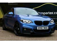 2017 BMW 2 Series 2.0 220D M SPORT AUTOMATIC SAT NAV HUGE SPEC 2d 188 BHP Coupe