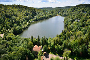 Nice chalet with spa and fireplace near Val-David - lakefront
