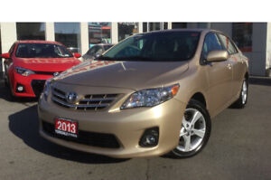 2013 Toyota Corolla LE, lots of extras very low mileage only 46K