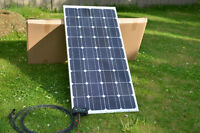 100w Solar Panel with 20 Amp PWM charge controller and cables