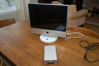 """iMac 20"""" 2008 Upgraded Model with Extras"""