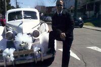 Limousine et voitures Antiques pour votre Mariage