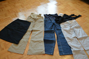 Maternity clothes (size 8)