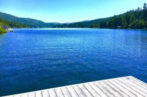 BEAUTIFUL PRIVATE SHAWNIGAN LAKEFRONT CABIN