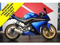 2013 13 YAMAHA YZF-R125 BLUE