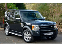 Land Rover Discovery 3 2.7TD V6 auto 2007MY HSE BLACK