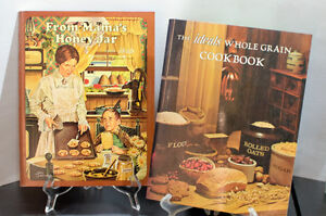 Two vintage cook books from 1970s
