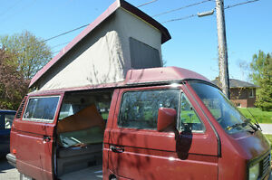 UPDATE: SOLD VW Vanagon Westfalia poptop and luggage rack (only)