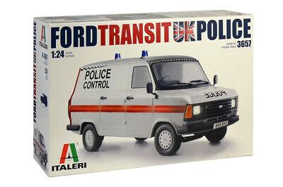 ITALERI 3657  - 1/24 FORD TRANSIT UK POLICE - NEU