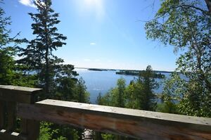 Million Dollar view on Shoal Lake Ontario Water access listing